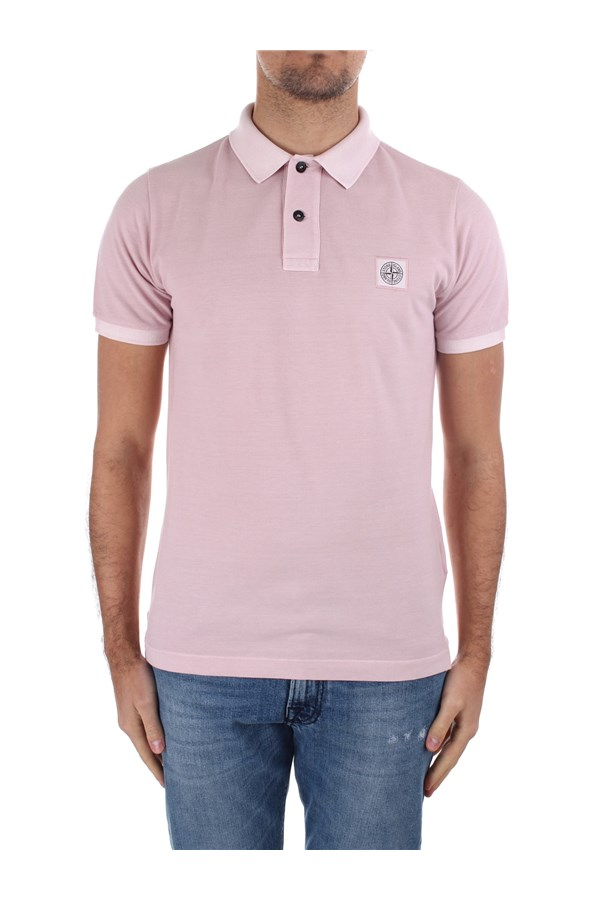 Stone Island Short sleeves MO741522S67 Pink