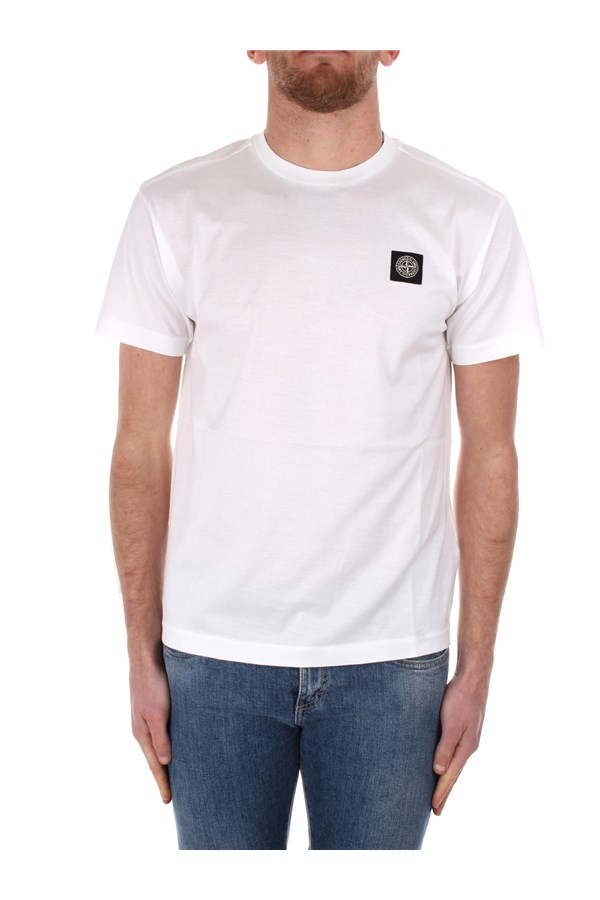 Stone Island Short sleeve White