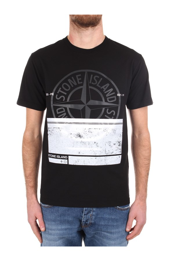 Stone Island Short sleeve Black