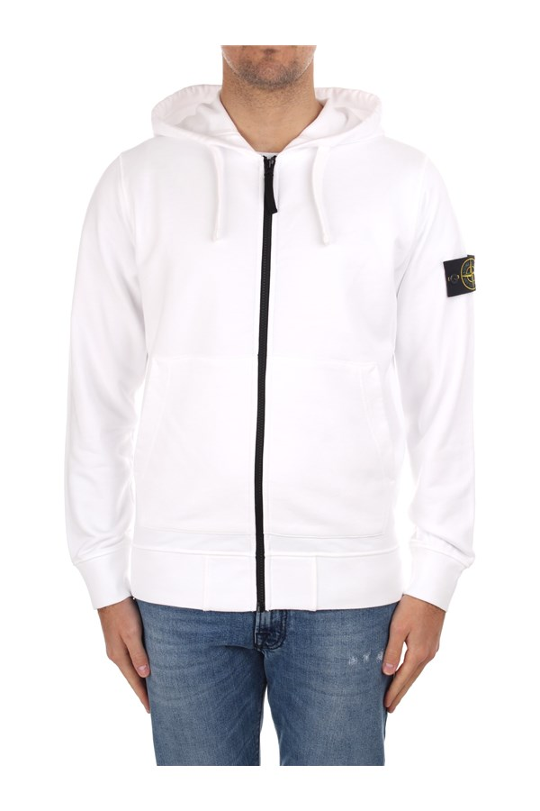 Stone Island  With Zip White