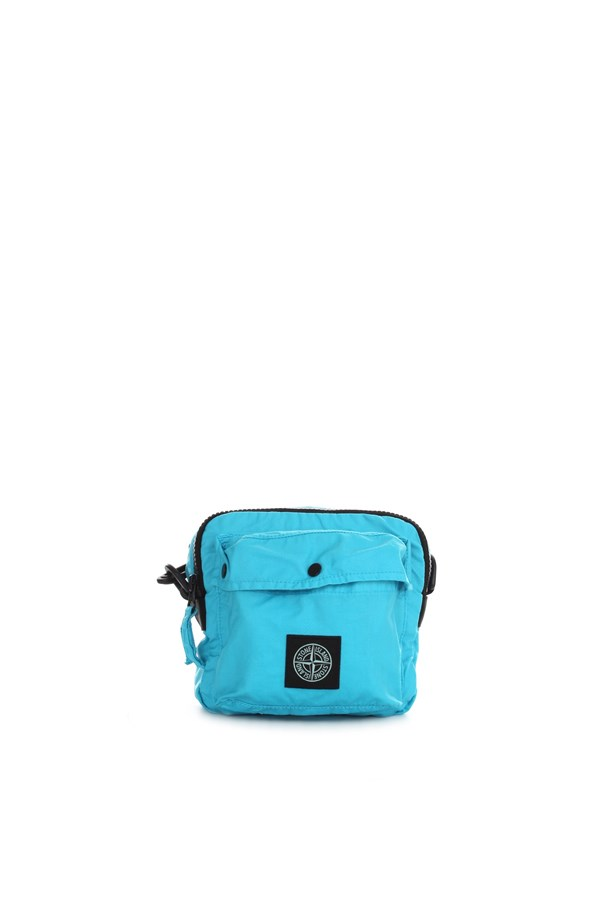 Stone Island Shoulder straps & Messenger Turquoise