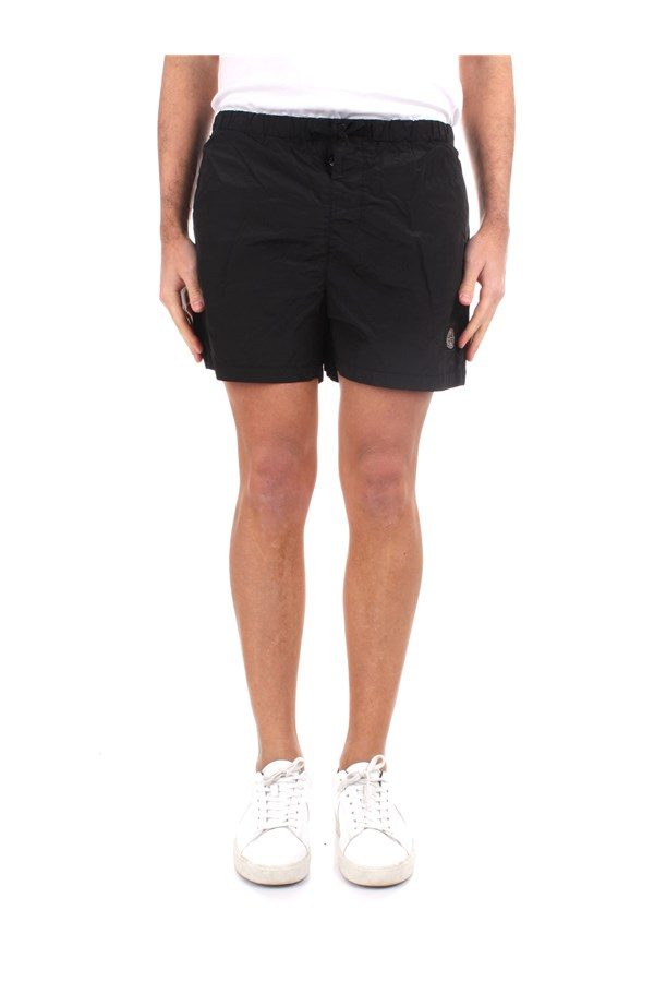 Stone Island Sea shorts MO7415B0643 Black
