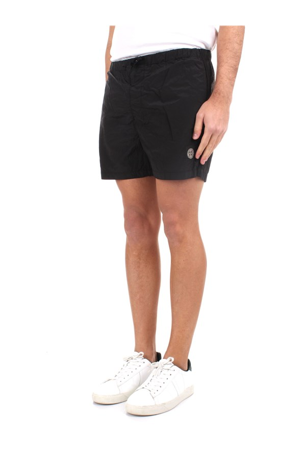 Stone Island Sea shorts Black