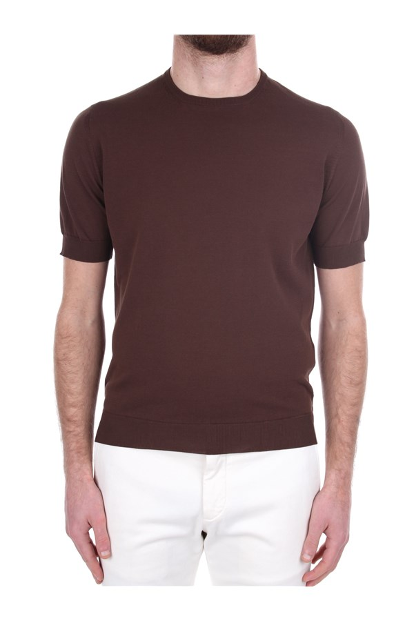 Arrows Short sleeve Brown