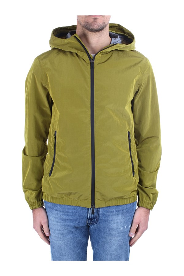 Herno Windbreakers Green