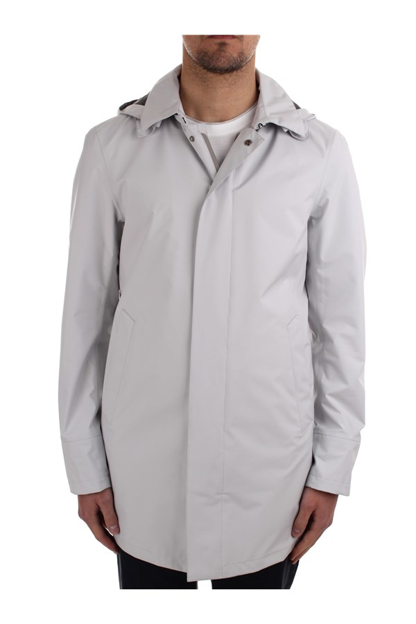 Herno raincoats White