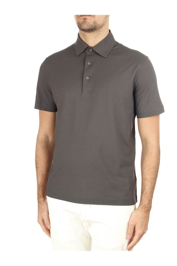 Herno Short sleeves Brown