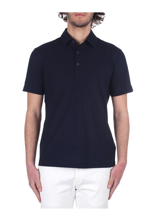Herno Short sleeves Blue