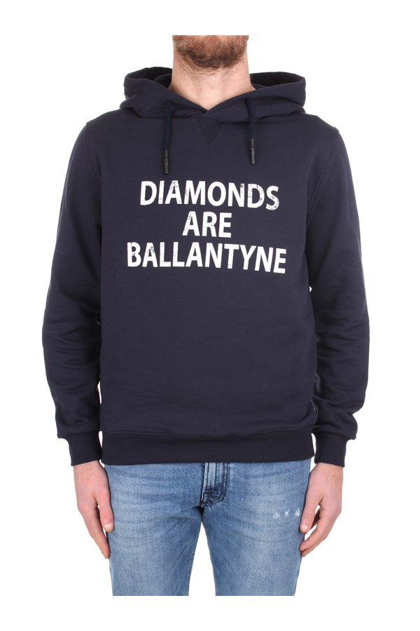 Ballantyne Hoodies SMW110 UCT57 Blue