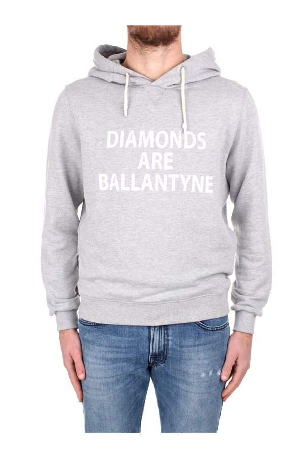Ballantyne Hoodies SMW110 UCT57 Grey
