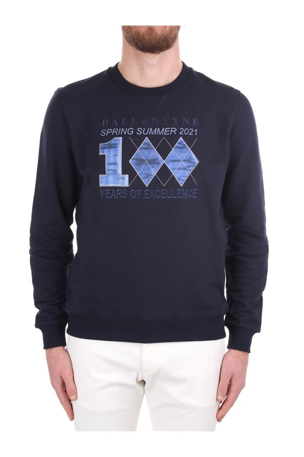 Ballantyne Crewneck  Blue