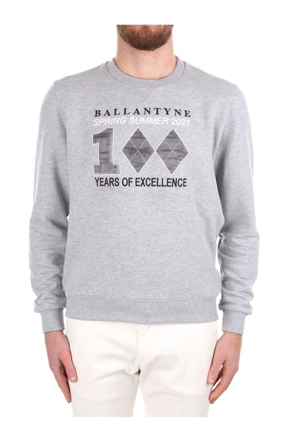 Ballantyne Crewneck  Grey