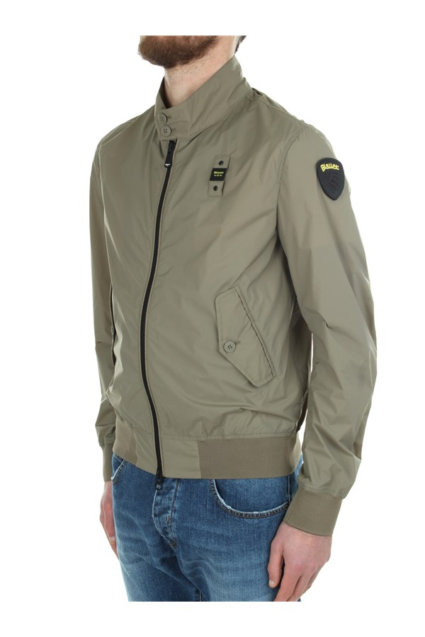 Blauer Windbreakers Green