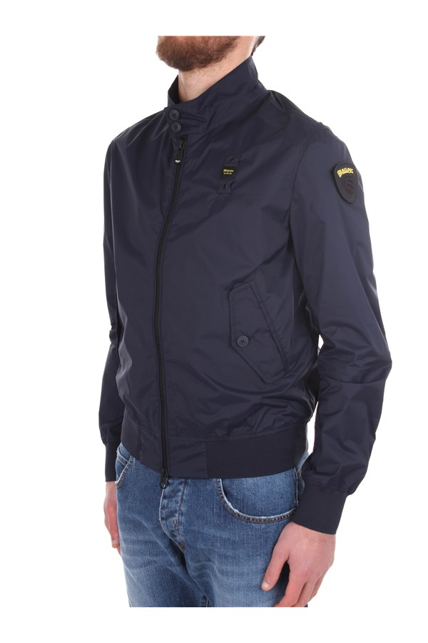 Blauer Windbreakers No Colour
