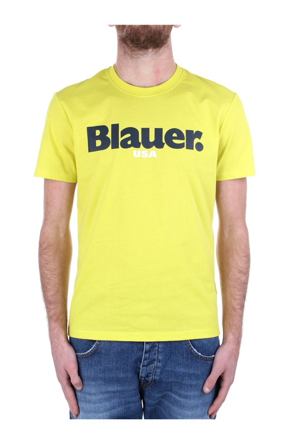 Blauer Short sleeve 21SBLUH02128 004547 Yellow