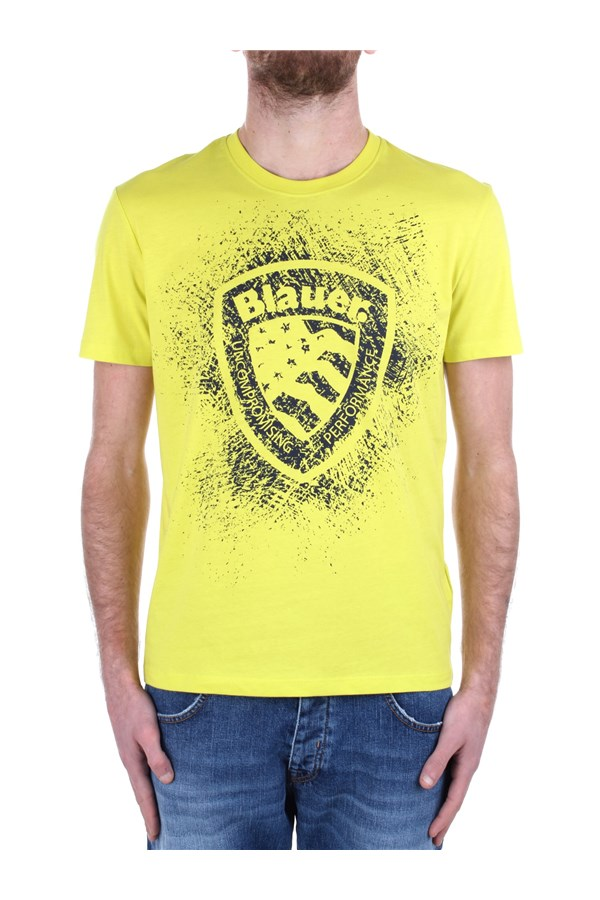Blauer Short sleeve 21SBLUH02134 004547 Yellow