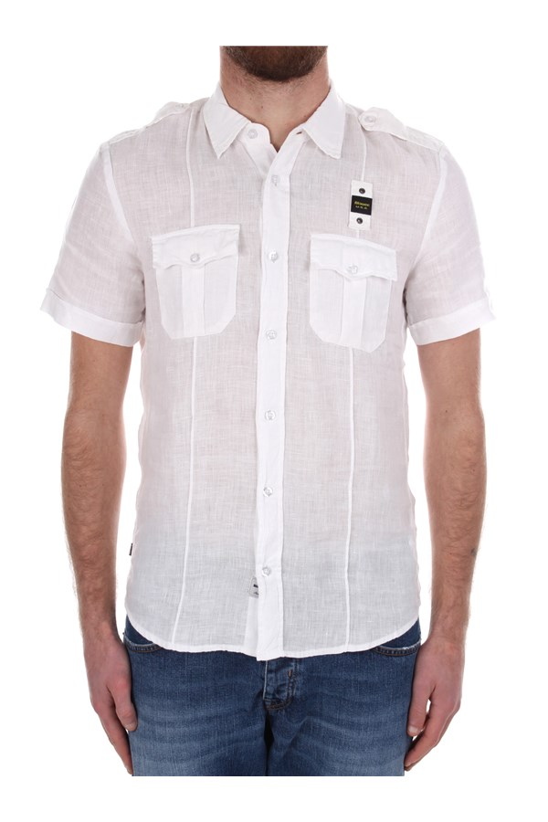 Blauer Casual White