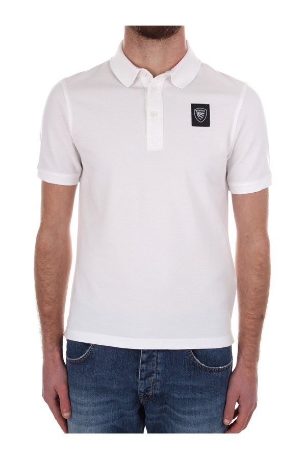 Blauer Short sleeves White