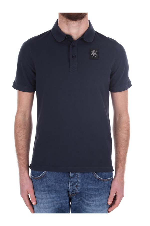 Blauer Short sleeves Blue
