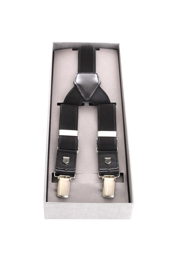 Corneliani braces Black