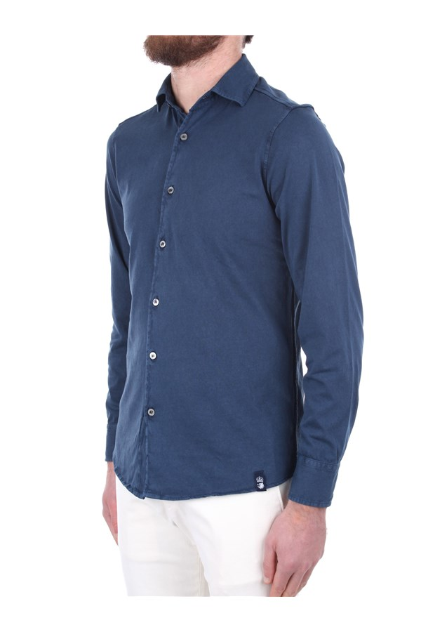 Drumohr Shirts Blue