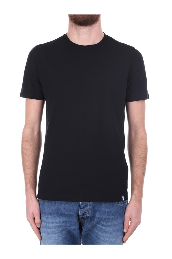 Drumohr Short sleeve Black