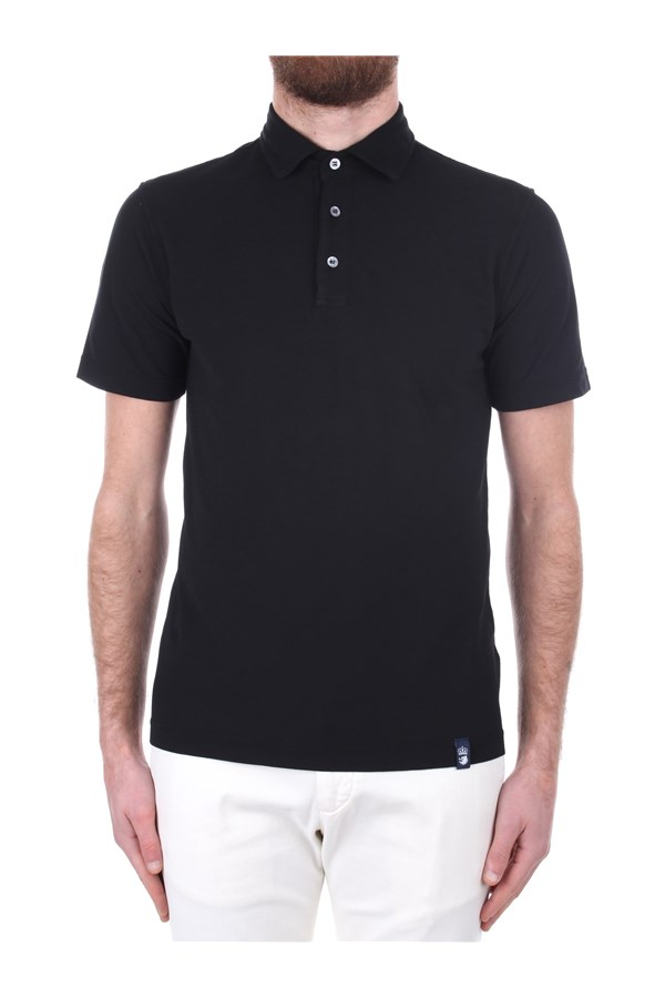 Drumohr Short sleeves Black
