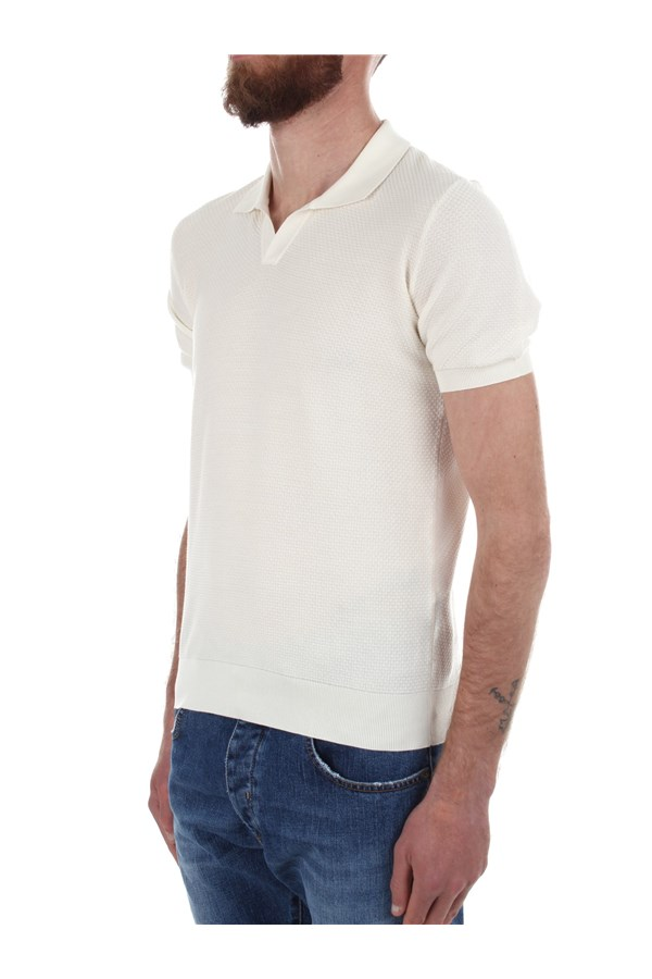 Drumohr Short sleeves White
