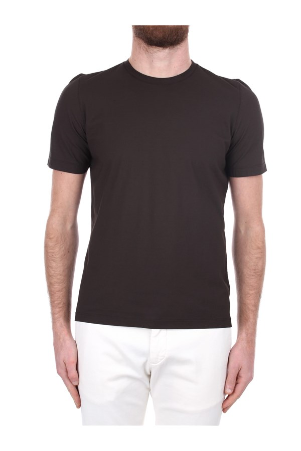 H953 Short sleeve Brown