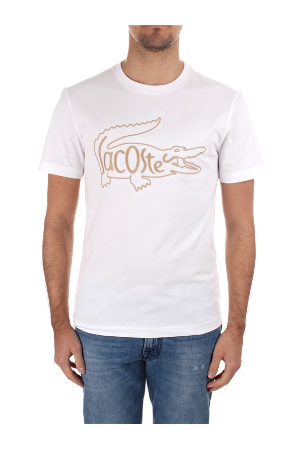 Lacoste Short sleeve TH0051 White