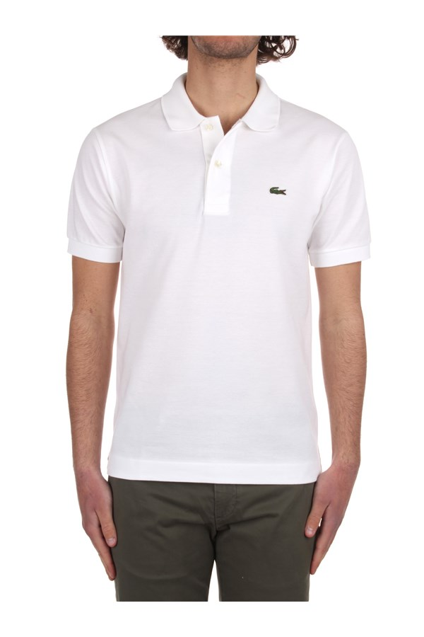 Lacoste Short sleeves 1212 White