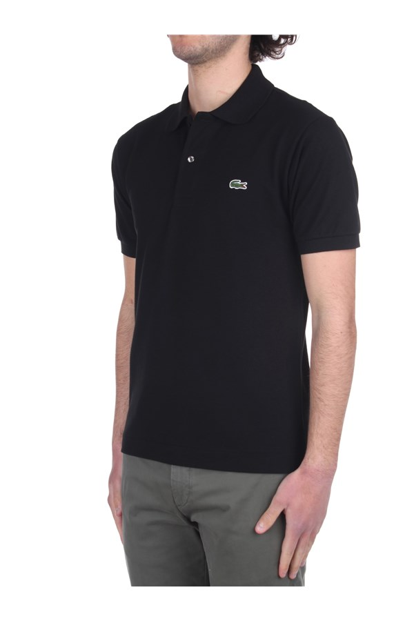 Lacoste Short sleeves Black