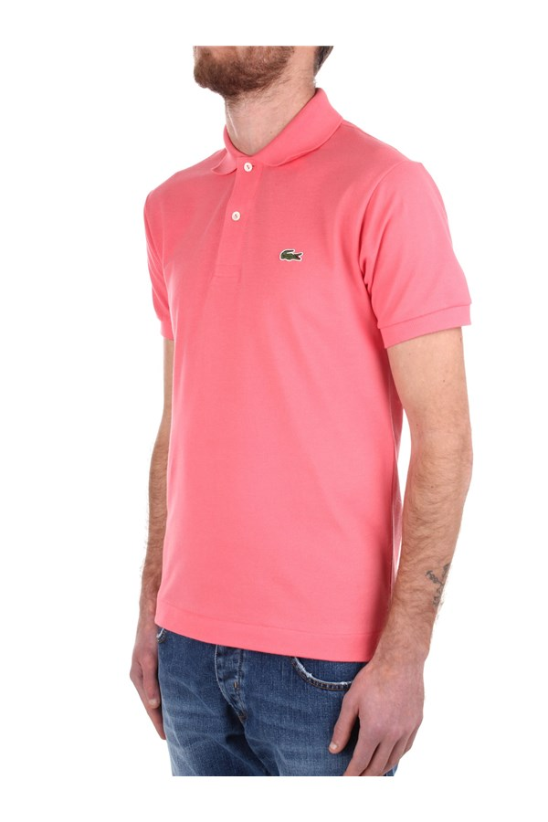 Lacoste Short sleeves Pink