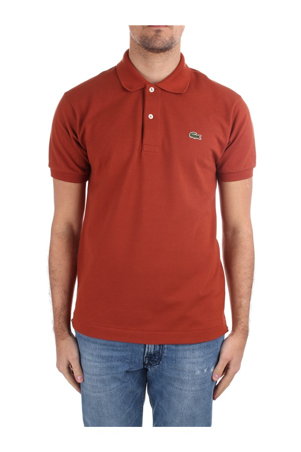 Lacoste Short sleeves 1212 Orange