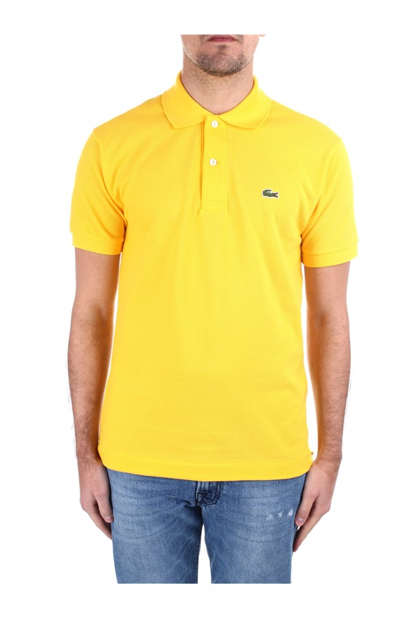 Lacoste Short sleeves 1212 Yellow