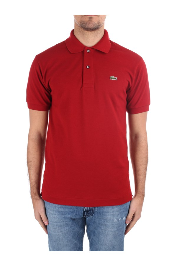 Lacoste Short sleeves 1212 Red