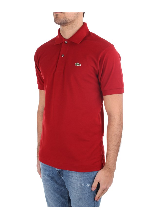 Lacoste Short sleeves Red