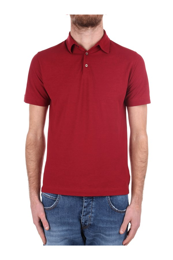 Zanone Short sleeves Red
