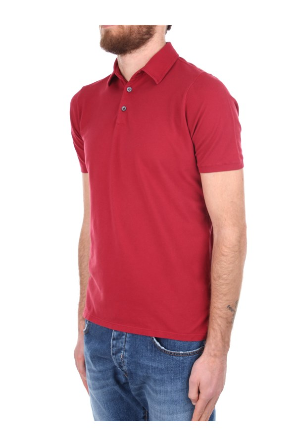 Zanone Polo shirt Red
