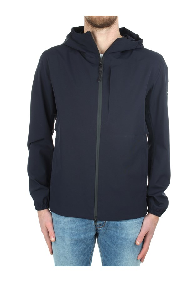 Woolrich Windbreakers Blue