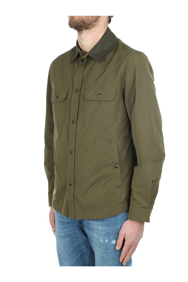 Woolrich Windbreakers Green