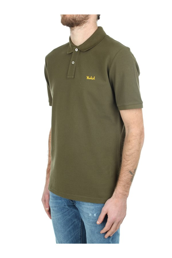 Woolrich Short sleeves Green