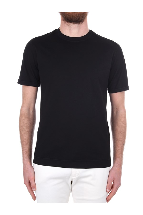 Fedeli Short sleeve Black