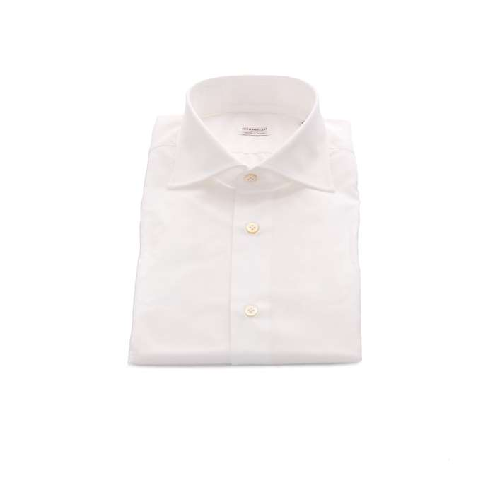 Borriello Clothing Man Shirts White 1401 1