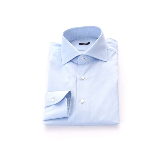 Barba Clothing Man Shirts Turquoise 5529 2