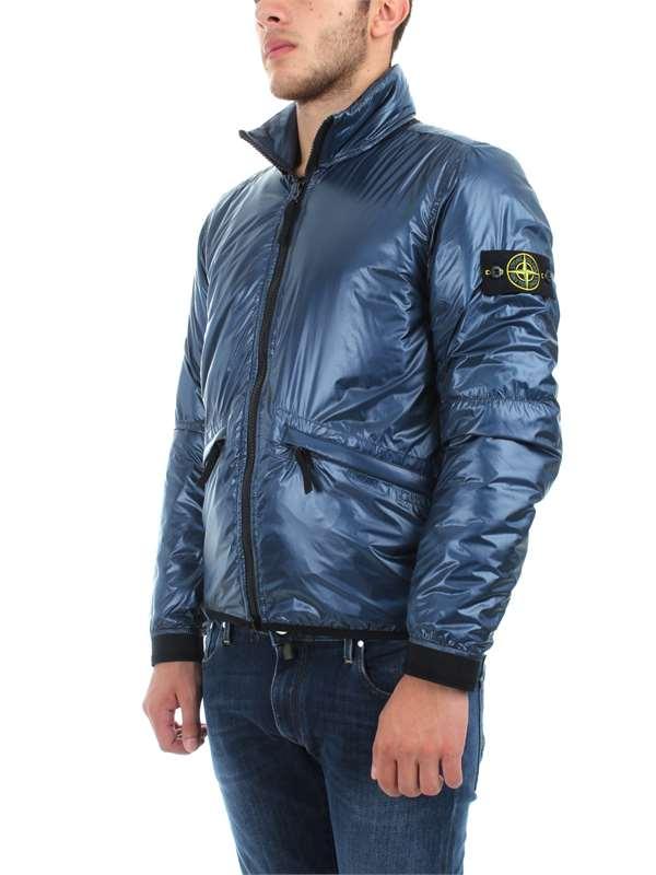 9ec228ea25d9c ... Stone Island Abbigliamento Uomo Giacche E Giubbotti Blu 691543021 V0020  ...
