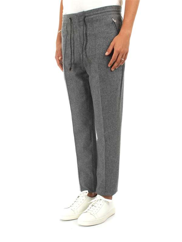 Brunello Cucinelli Clothing Man Trousers Grey M038PE1880 C003