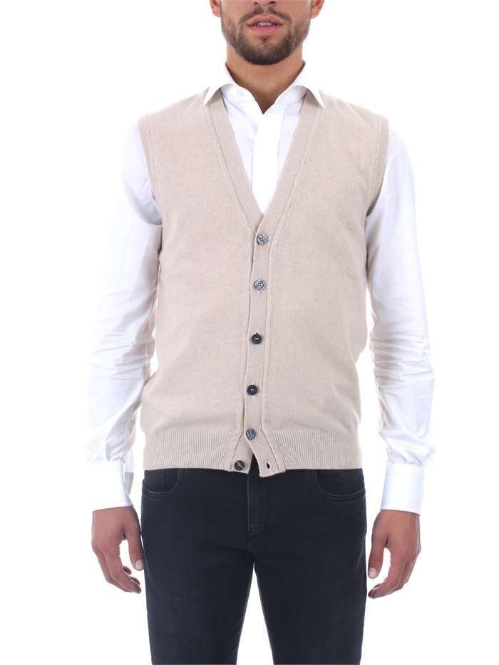 b6bd6d8dc886c8 Gilet Re Branded Uomo - Beige - Vendita Gilet On line su michidamato.com