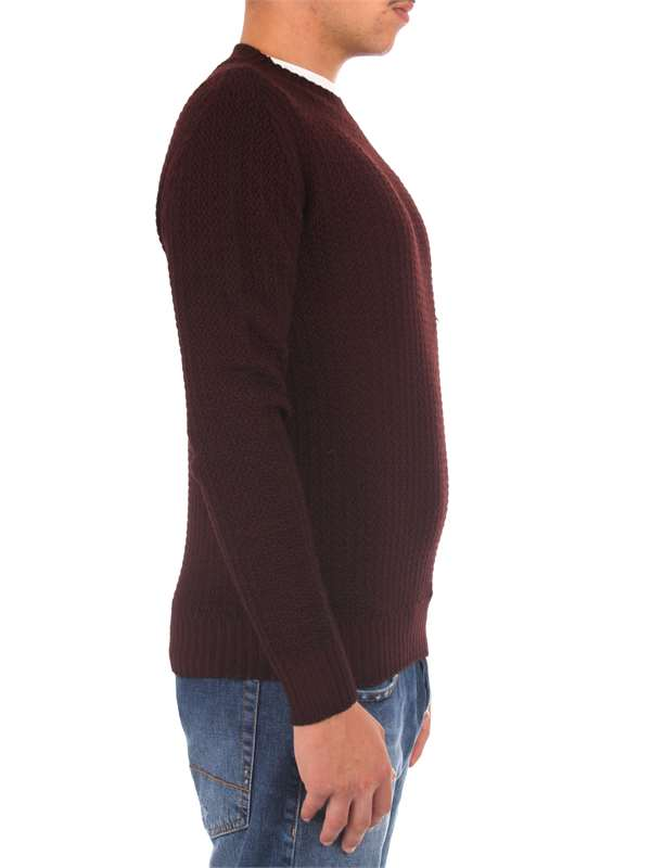 H953 Clothing Man Sweaters Red HS2264 51
