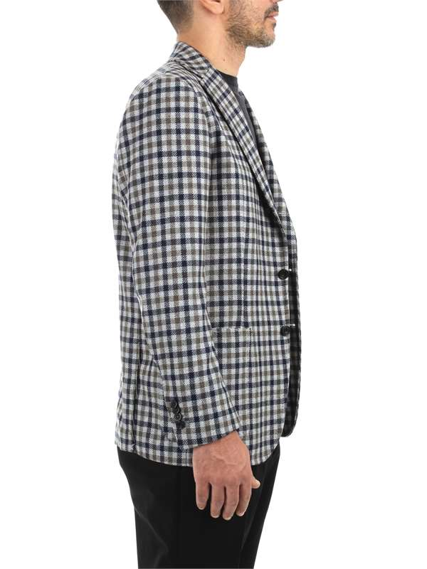 Sartorio Clothing Man Blazer Multicolor 50511 011 LM